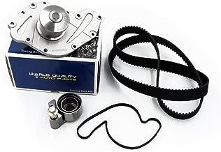 Timing Belt Water Pump Kit fits for 2005 2006 2007 2008 2009 2010 Chrysler 300, 2007-2010 Chrysler Sebring, 2006-2010 Dodge Charger Avenger Grand Caravan Journey,2009-2010 VW Routan 3.5L 4.0L 24V SOHC