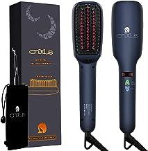 موی صاف کننده یون مو، گرمایش سرامیکی CNXUS MCH + نمایشگر LED + درجه های قابل تنظیم + مو برطرف کننده موی ضد صیقل، لوازم آرایشی قابل حمل Frizz Free Hair Silky Straight Combined