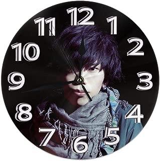 米津玄師 掛け時計 壁掛け時計 置き時計 丸型 サイレント 連続秒針 デジタル ウォールクロック おしゃれ デジタル時計 高級感 装飾