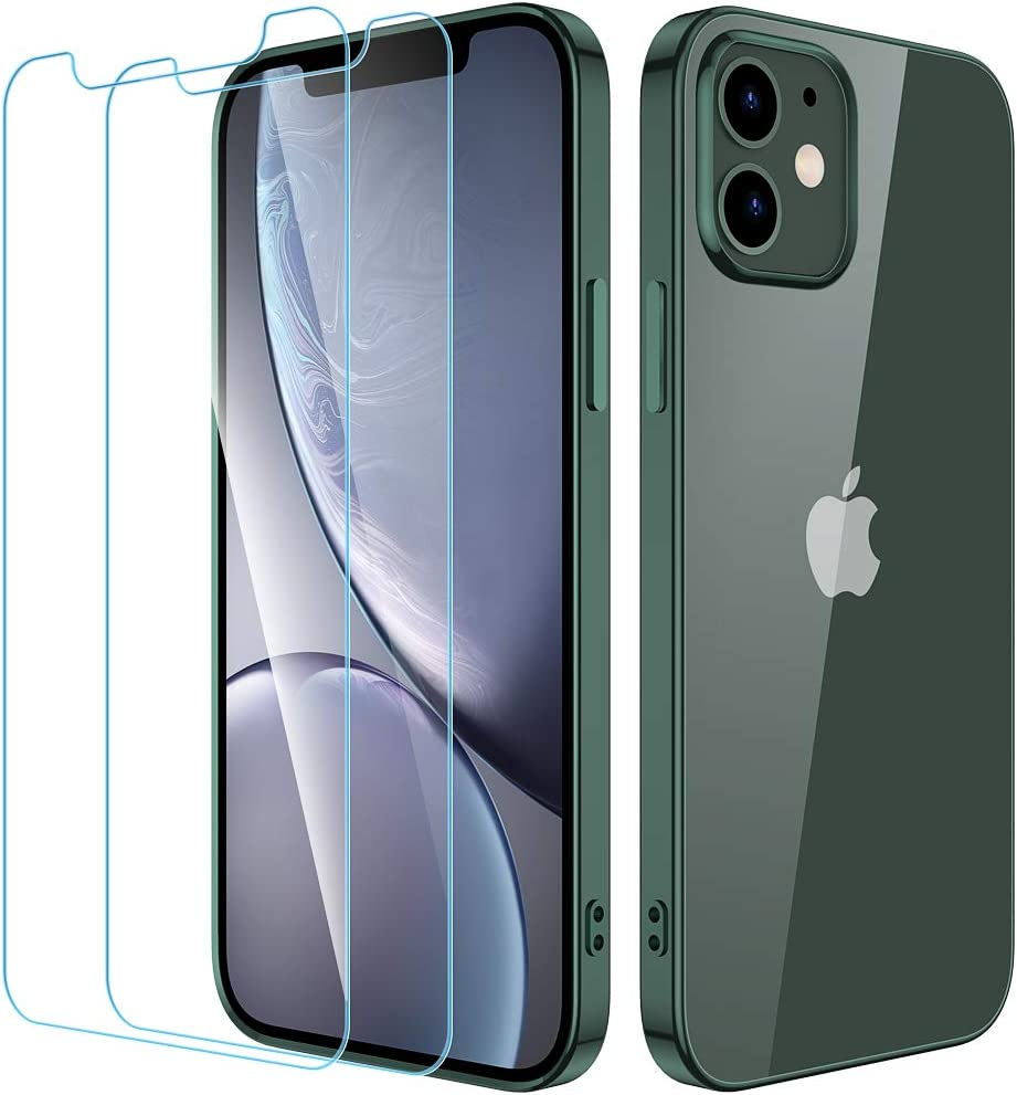 Wiselead Case for iPhone 12 6.1 inch Silver Case for iPhone 12 Pro