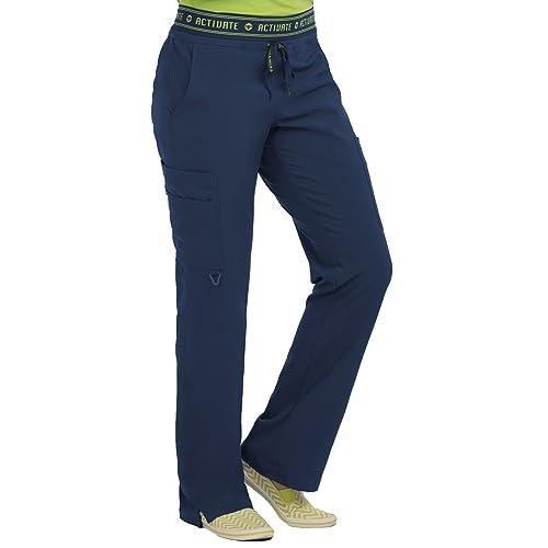 0cc851c713b Med Couture Activate Scrub Pants Women, Yoga 2 Cargo Pocket Pant