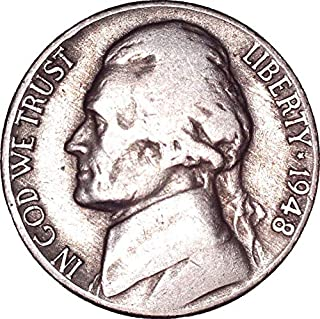 1948 D Jefferson Nickel 5C About Uncirculated
