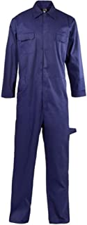 Adults Polycotton Coverall Overall Suit Mens Welding Mechanic Work Boiler Suit
