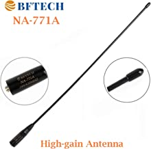 BFTECH NA-771 A 15.6-Inch Dual Band Antenna (144/430Mhz) SMA Female High gain Handheld Antenna