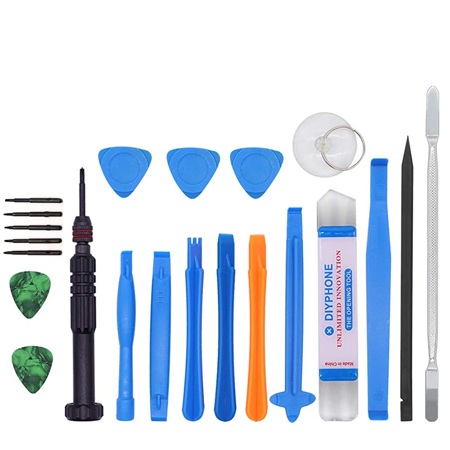17 in 1 Mobile Phone Repair Tool Kit Screwdriver Tools Kit for Disassembling All iPhone and Android Phone Screen Opening Tools kit