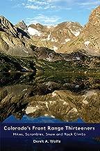Colorado's Front Range Thirteeners