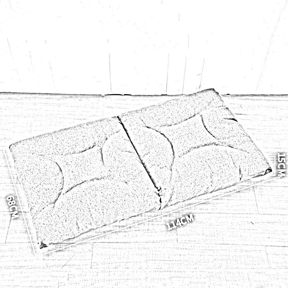 WZF Fauteuil de Jeu Pliant au Sol Chaise Longue de Jeu Canapé-lit réglable à 5 Positions pour la méditation, la Lecture, la télévision (Couleur: Gris Clair) Light Grey