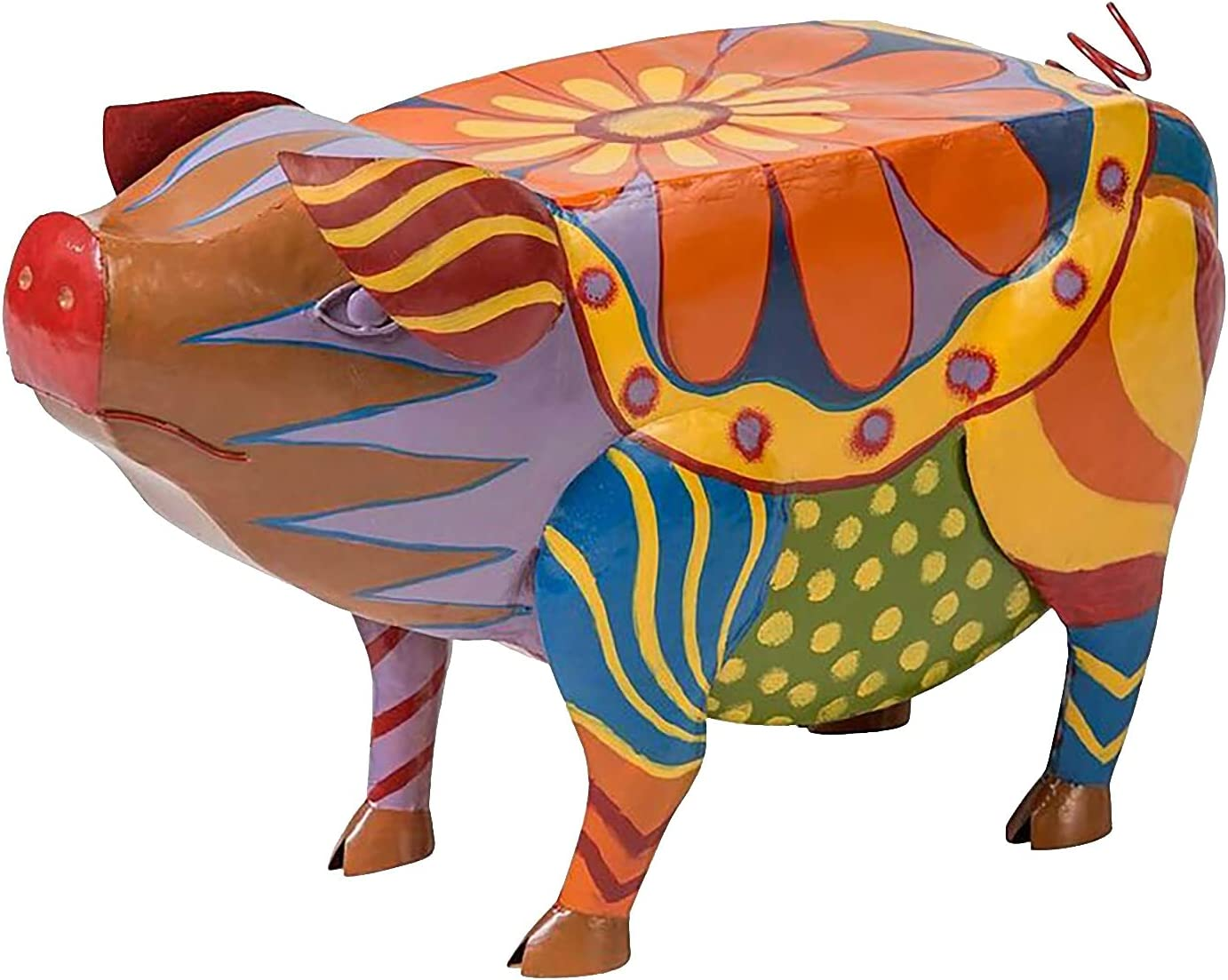 Pig Max 46% OFF Patio Side Table Trust Perfect Ani Colorful Furniture Standing