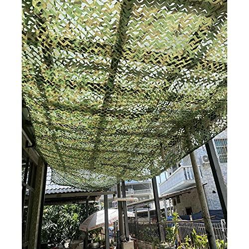 DLLY Tarnnetz, Militärisch Verstärktes Sonnensegel, 1,5x2m/3x4m/5x6m/7x8m Sonnenschutz-Camouflage-Netz-abdeckungen, Verwendet Für Garten, Jagd, Schießen,...