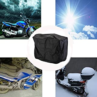 dDanke Black Mobility Scooter Cover 4 Wheels Electric Covers Rainproof Dustproof Snow Protection Cover 58.5x45.3x31.2 Inch