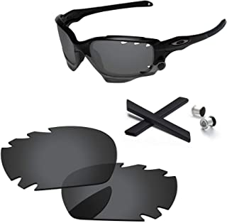 PapaViva Lenses Replacement & Rubber Kits for Oakley Jawbone Vented
