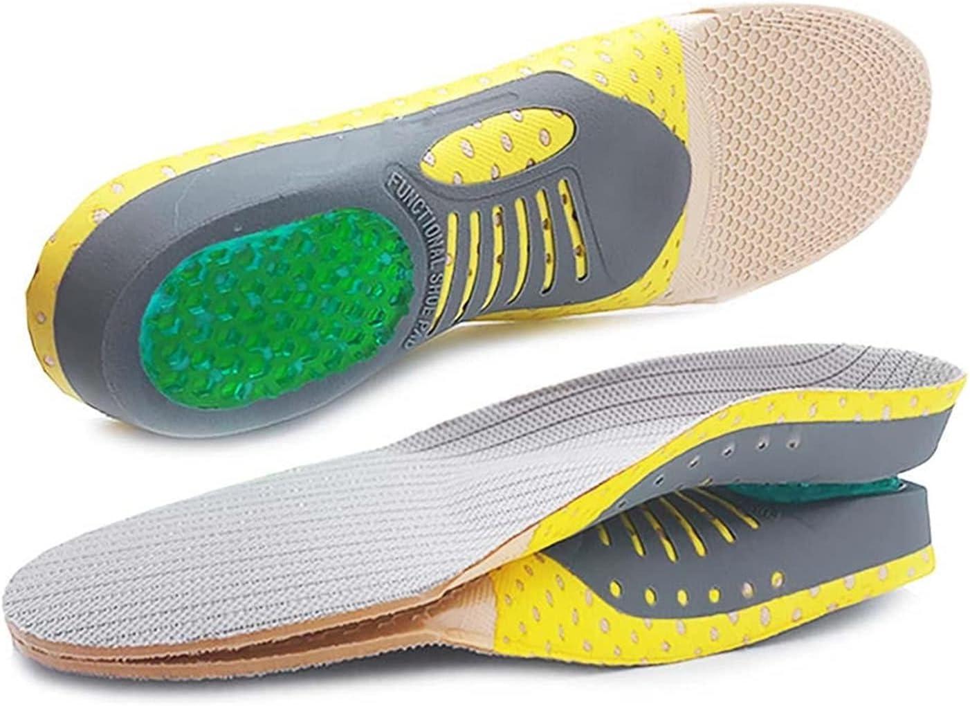 EKYJ Almohadilla para Zapatos Plantillas ortopédicas Orthotics Pies Planos Planos saludables Plantillas Arch Support Pads Plantar Fasciitis Pie Care Almohadilla de Repuesto para Zapatos