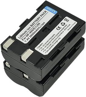 2X D-Li50 Battery for D-L150 K10 K10D GP Grand Prix K20D Camera NP-400 SLB-1674 BP-21