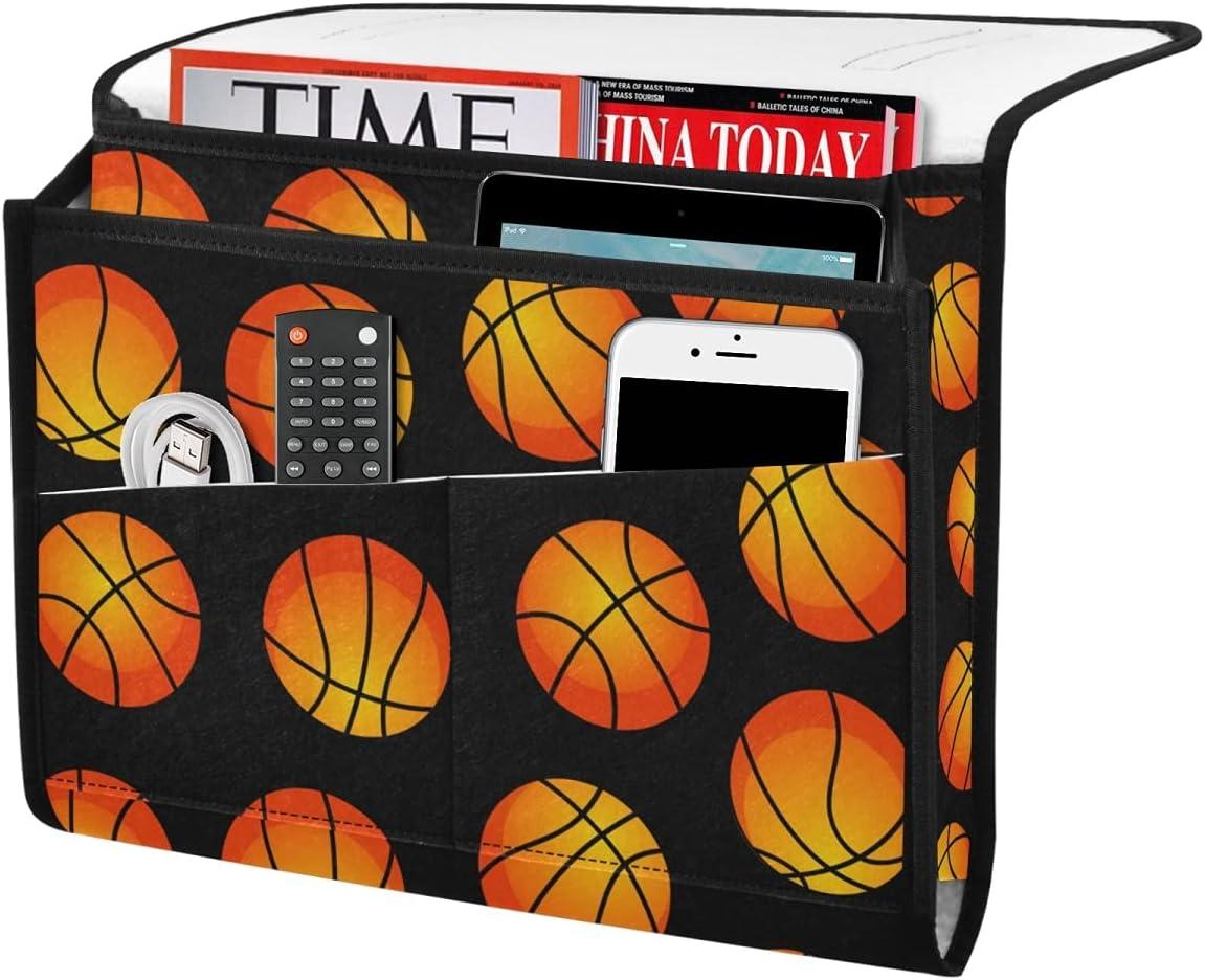 DOMIKING Basket Balls Sport Bedside Storage Felt New life Organizer Sale Bed C