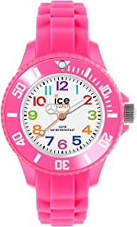 Ice-Watch - Ice Mini Pink - Montre Rose pour Fille avec Bracelet en Silicone - 000747 (Extra Small)