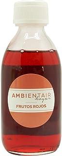 Ambientair. Recharge pour désodorisant 250ml. Fruits rouges. Désodorisant Baies sauvages. Recharge pour bâtonnets diffuseu...