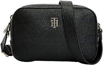 Tommy Hilfiger Damen TH Essence Camera Bag Rucksack, Schwarz, Einheitsgröße