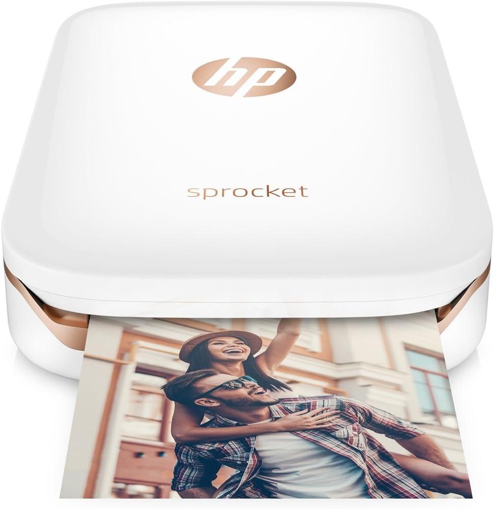 HP Sprocket Impresora de Fotos Blanco