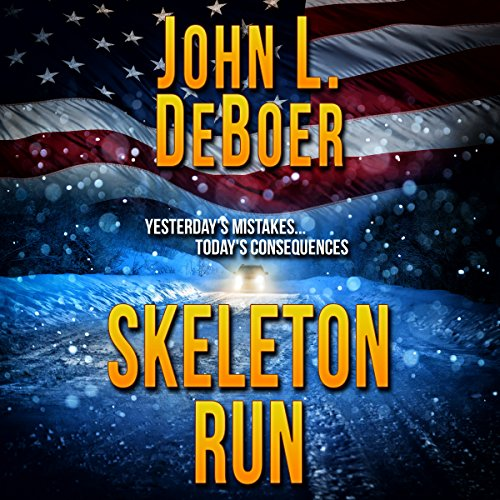 Skeleton Run audiobook cover art