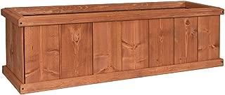 Greenstone 100077 Robusto Cedar Planter Box, Small, Heartwood