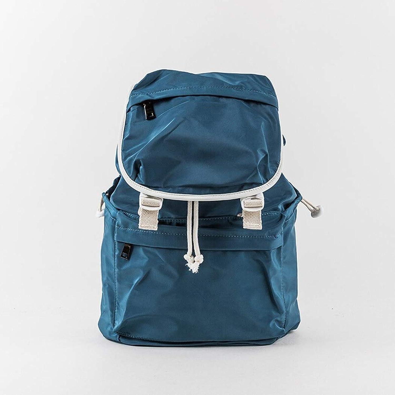 LF Student Schoolbag Casual Business Rucksack Wasserabweisender Multifunktionsrucksack, Outdoor-Kletterrucksack, Tagesrucksack für Herren und Damen (Farbe   Grün, Größe   38cm)
