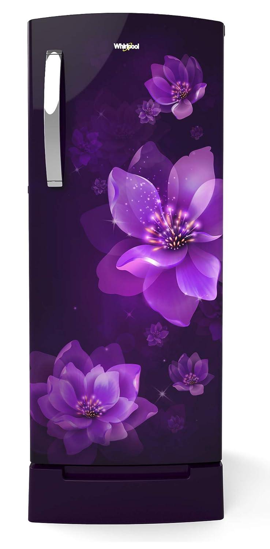 Whirlpool 200 L 3 Star Direct-Cool Single Door Refrigerator (215 IMPRO ROY 3S PURPLE MULIA, Purple Mulia)