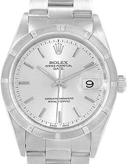 Rolex Date Automatic-self-Wind Male Watch 15210 (Certified Pre-Owned)
