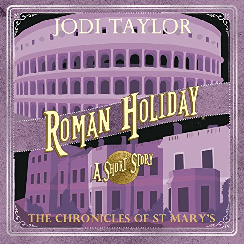 Roman Holiday audiobook cover art