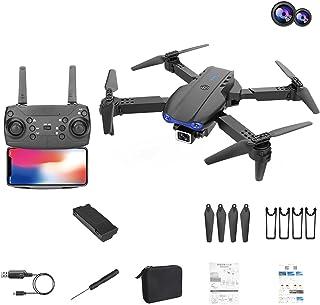 GPS-drones Met 4K HD Dual Camera Voor Volwassenen Visuele Positionering Wifi Drone, Luchtdruk Hoogte Hold/Hover, Circle Fl...