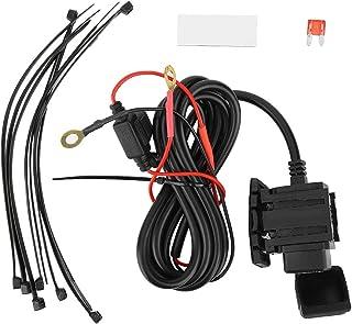 Fesjoy Caricabatterie per riparazione pluse intelligente 12V 10A con display a LED Caricabatterie per moto e auto Caricabatterie per batterie al piomboIntelligente