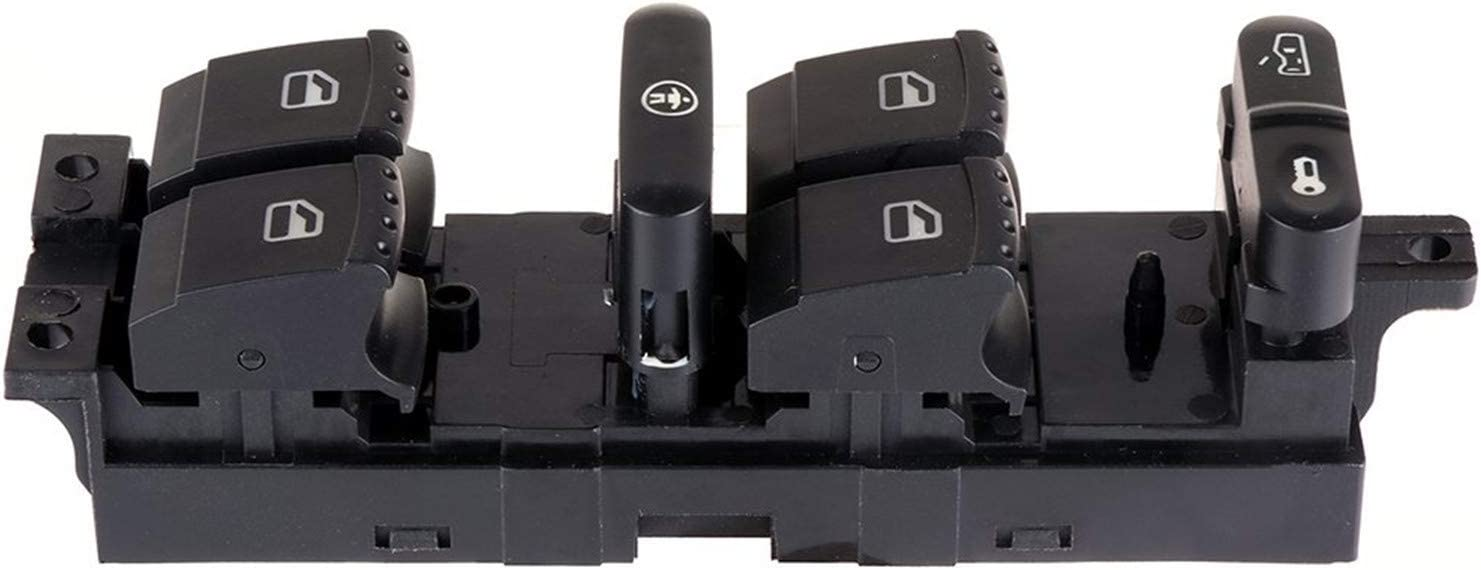 KUNFINE Interruptor de Control electr/ónico de Ventana Maestro PorAUDI A6 C5 4B0 959 851 B 4B0959851B