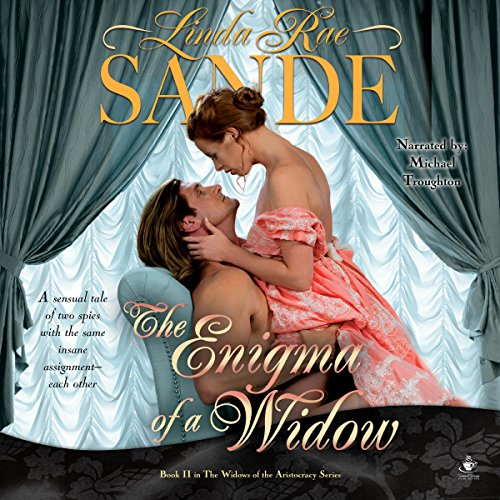 The Enigma of a Widow audiobook cover art