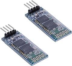 HiLetgo 2pcs HC-06 RS232 4 Pin Wireless Bluetooth Serial RF Transceiver Module Bi-Directional Serial Channel Slave Mode for Arduino