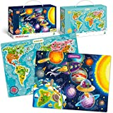 100 Piece Puzzles for Kids Ages 4-8-10 –Big Jigsaw Floor Puzzles for Toddlers 3-5 Years Old by...