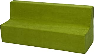 Velinda Canapé, Sofa, lit, Meubles Chambre d'enfant, Jeu Confort Repos (Couleur: Vert)
