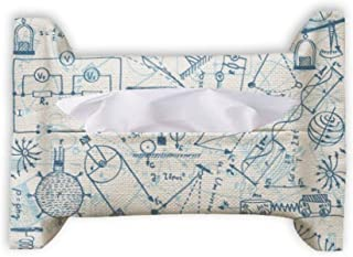 Blue Physical Electromagnetic Mechanics Chart Paper Towel Facial Tissue Bag Napkin Bumf