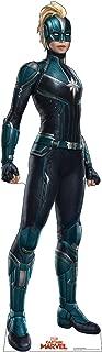 Advanced Graphics Captain Marvel Mask Life Size Cardboard Cutout Standup - Captain Marvel (2019 Film)