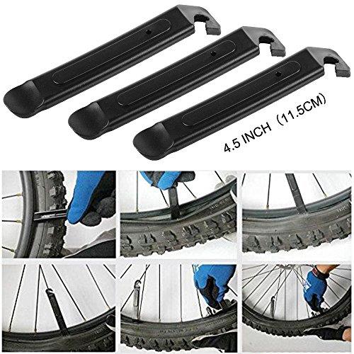 DAWAY Multitool Fahrrad Reparatur Set – B32 Fahrrad Werkzeug Reparaturset, 16 in 1 Multifunktionswerkzeug, Reifenheber, Selbstklebendes Fahrradflicken Inbegriffen, 6 Monate Garantie - 5