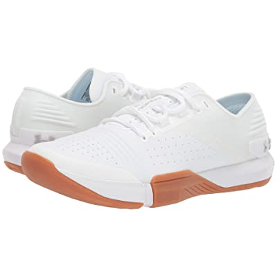 Under Armour UA Tribase Reign (White/White/Gray Flux) Women