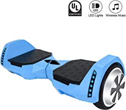 Green CXMScooter Hoverboard 6.5 inch Self-Balance Scooter w//Bluetooth Speaker UL2272 Certified