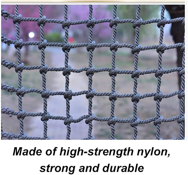 バルコニー階段安全ネットアウトドアトレーニング開発保護ネット遊園地幼稚園ロープネットクライミングアンチフォールネット(18mm / 20cm) (Color : 18mm/20cm, Size : 2*6m/6.6*19.69ft)