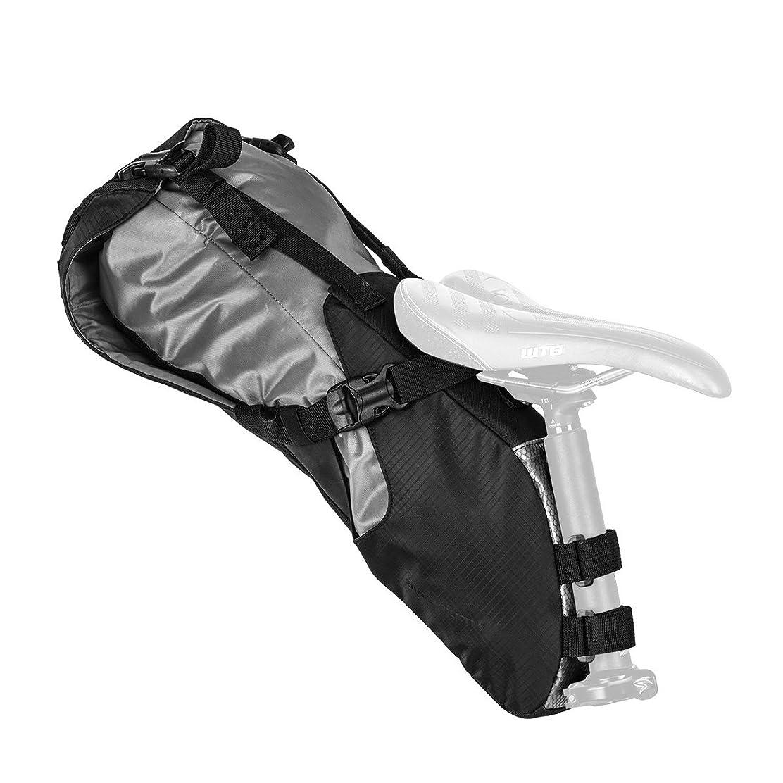 勇気のある膿瘍用心深いBlackburn(ブラックバーン) サドルバッグ 自転車 サイクリング 大容量 防水 バイクパッキング OUTPOST [アウトポストシートパック&ドライバッグ] 7068196