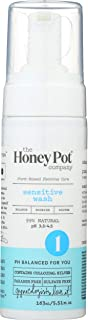 The Honey Pot Company Sensitive Wash | Herbal Infused Feminine Hygiene Natural Wash for Sensitive Skin Types | PH Balanced...