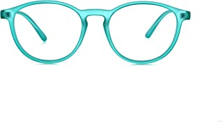 My Blue Protect®, Blue Light Blocking Eyes Glasses, Anti-Fatigue, UV Filters (L001 Kids) (Turquoise)