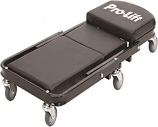 "Pro-LifT C-9100 Black 450 Pounds 40"" Foldable Z Creeper-450 LBs (Renewed)"