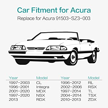 Acura Front Bumper Clips 91503-SZ3-003 FREE SHIPPING USA 10 PIECES ...