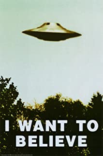 Studio B The X-Files - I Want to Believe TV Poster Print