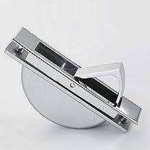 Kastgrepen Verborgen deurgrepen Zinklegering Verzonken Flush Pull Cover Vloerkast Handgreep Helder Chroom Donker Meubelbeslag