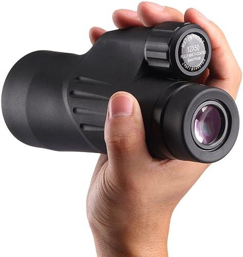 GHCX Vision Nocturne Extérieure étanche HD Haute Puissance Monoculaire Mini Portable (Zoom 12x)