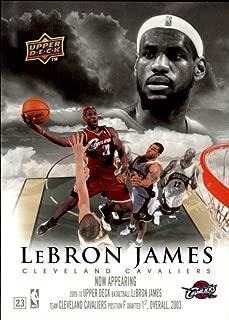 2009-10 Upper Deck Now Appearing #NA8 LeBron James - NM-MT CAVS HEAT MVP